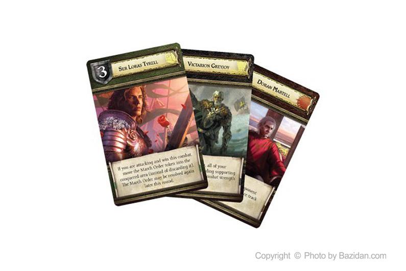 تصویر شماره 2  بازی کارتی تاج و تخت ( game of thrones)