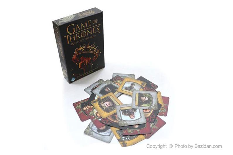 تصویر شماره 3  بازی کارتی تاج و تخت ( game of thrones)