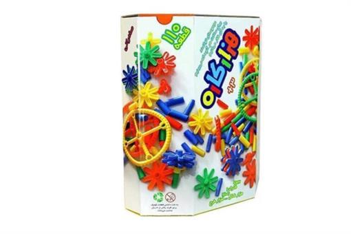 اسباب-بازی-هزار کاره ١١٠ قطعه شش ضلعی